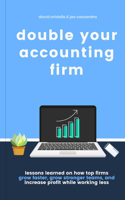double your accounting firm Book Cover